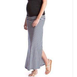 Nautical Striped Maxi Skirt/Dress